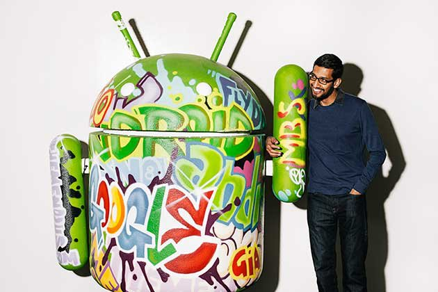 Google's CEO talks about Apple's security problem with the FBI