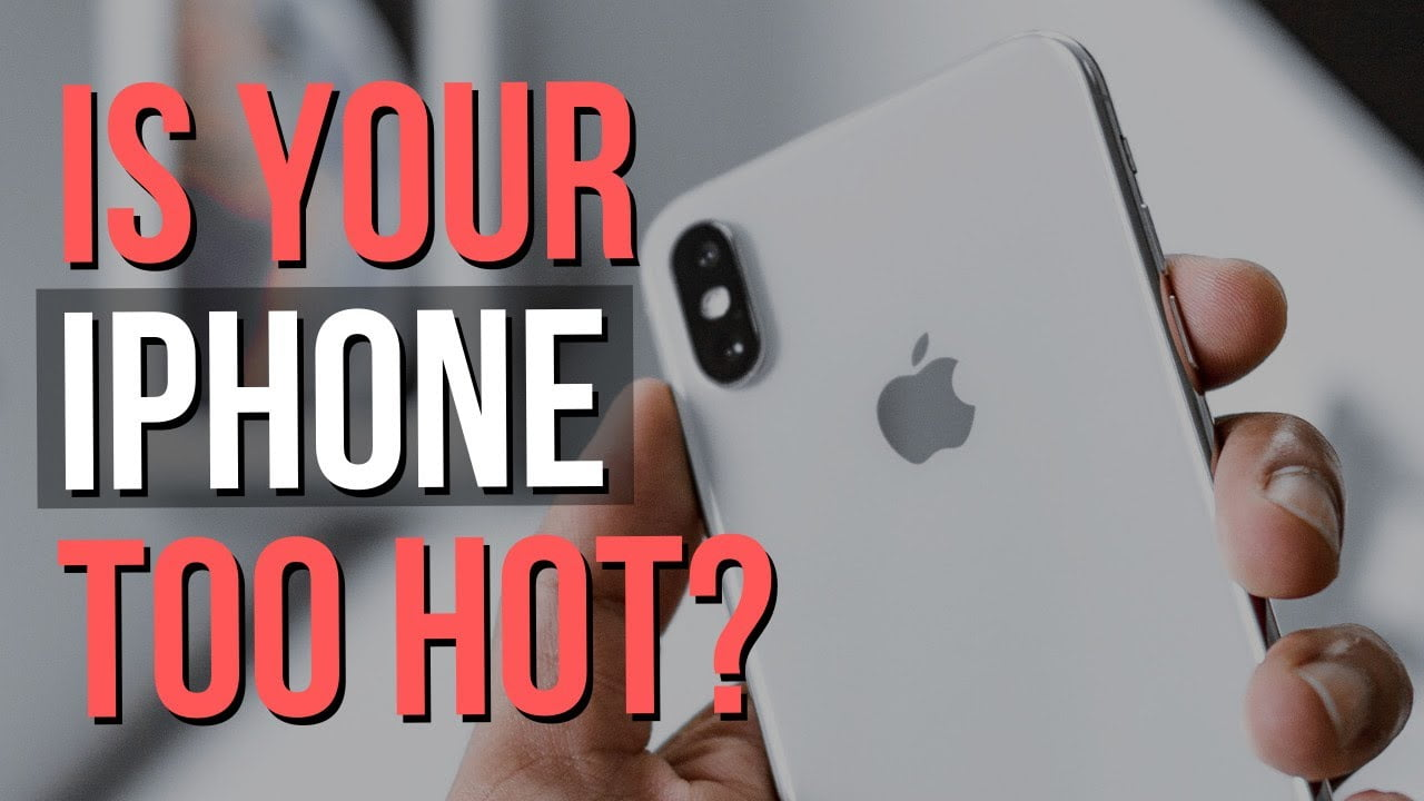 How and why to keep your iOS device from overheating