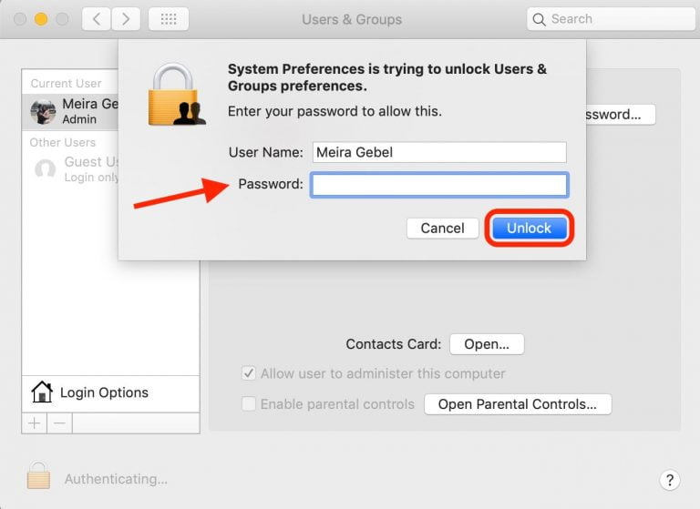 How to activate the guest user in OS X