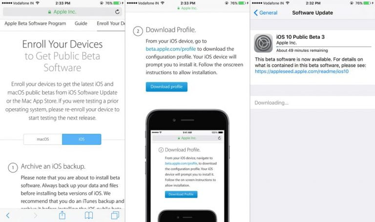 How to install a beta on iPhone or iPad