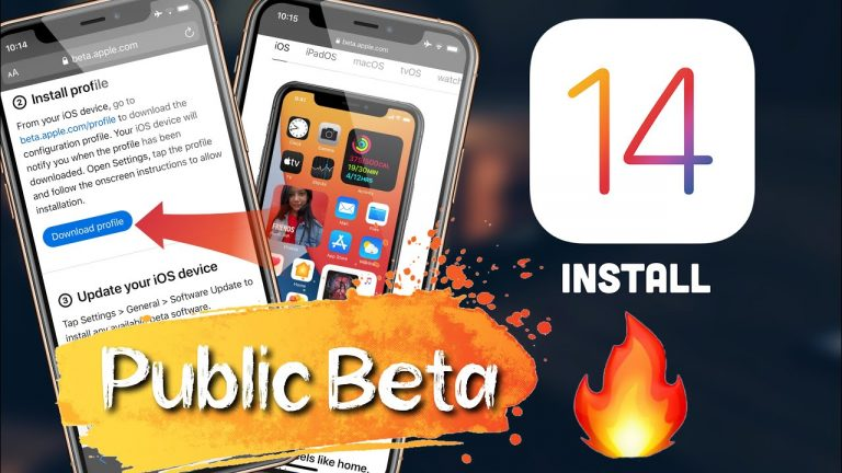 how to install the second public betas