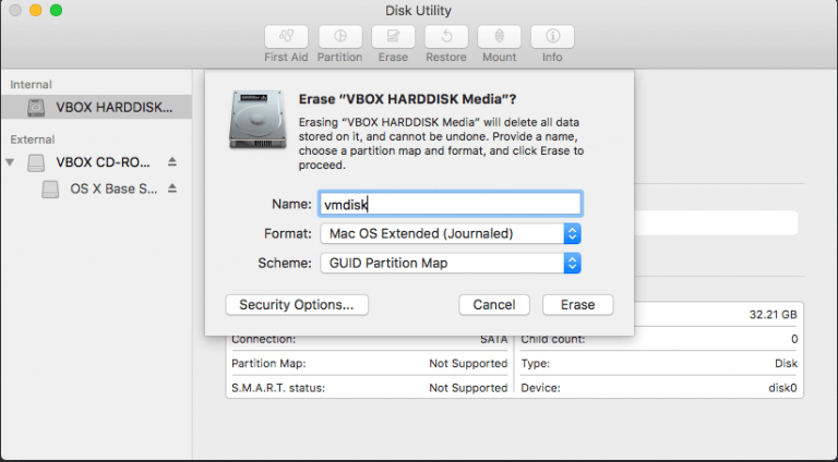 How to reinstall macOS on a Mac when changing the hard drive