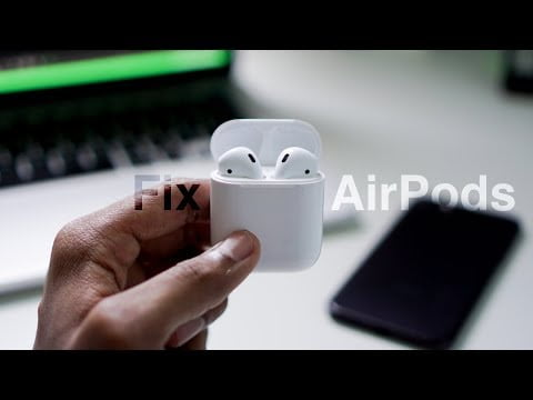 How to repair AirPods that continually disconnect from the iPhone