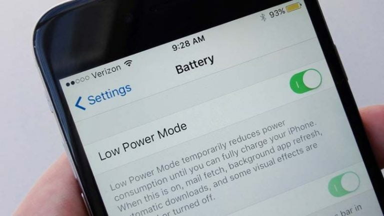 How to save battery power on your iPhone
