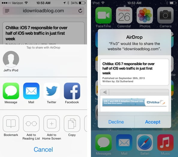How to use the Reading List in Safari for iOS 7