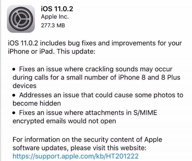 If you upgrade to iOS 11.0.2 you will no longer be able to go back to an earlier version