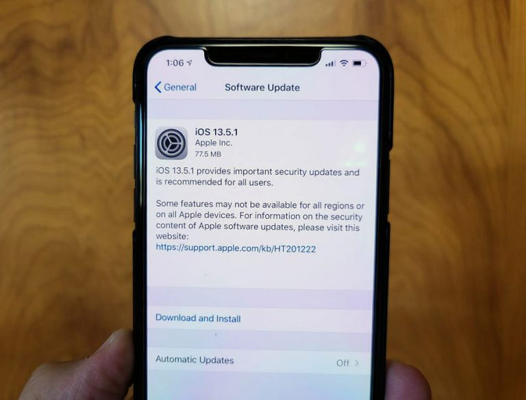 Installing iOS 13.5.1 and other systems: what's new