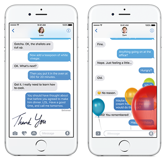 iOS 10 and a renewed iMessage