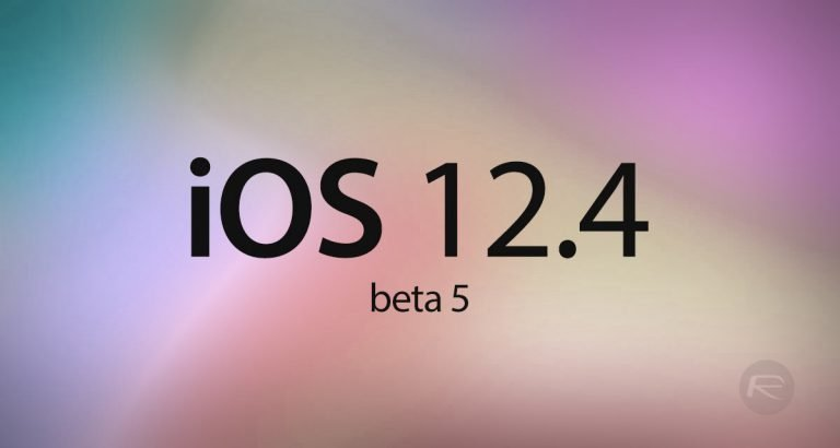 iOS 12.4 Beta 4 now available for developers
