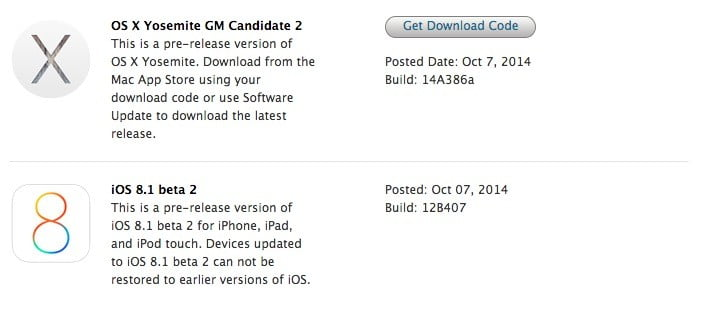 iOS 8 beta 2 now available