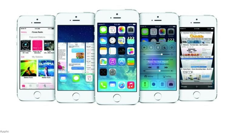 iOS 8, that's the new Apple mobile operating system