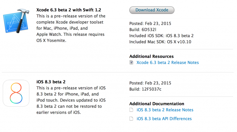 iOS 8, the next Apple OS for iPad and iPhone