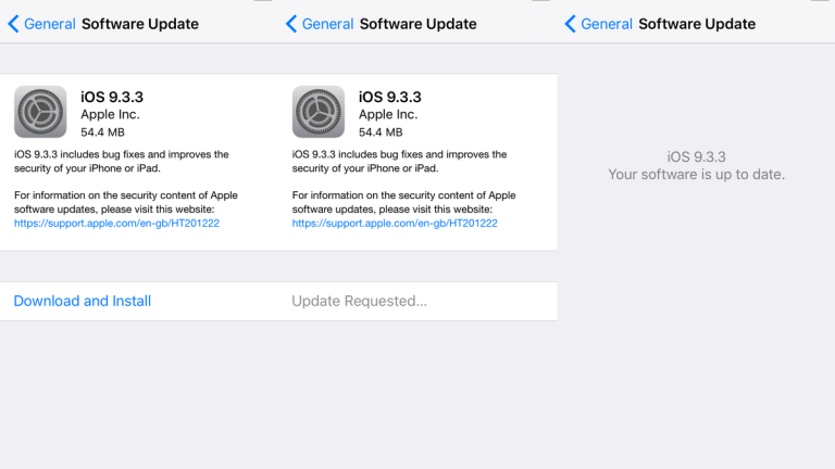 iOS 9.3.5 and iOS 10 beta 8 for developers arrive