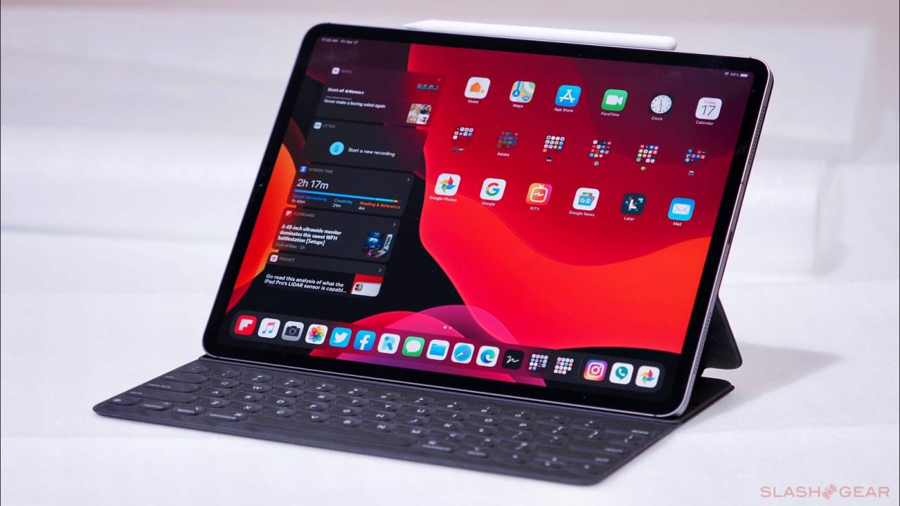iPads help out students who haven't been to school