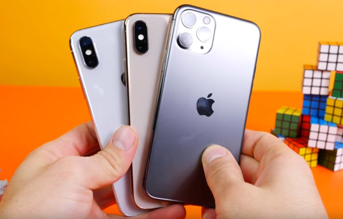 iPhone 11 Pro performance test compared to iPhone XS