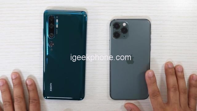 iPhone 11 Pro vs Xiaomi My 10 Pro, which is better?