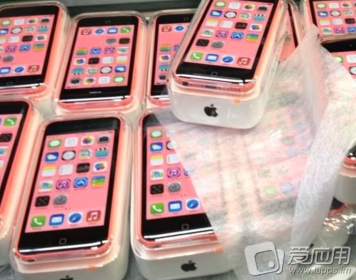 iPhone 5C is back in its box