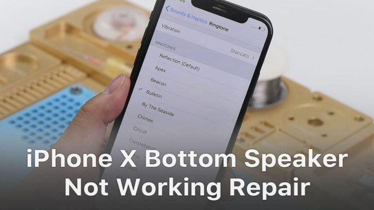 iPhone X sound problems: how to fix them