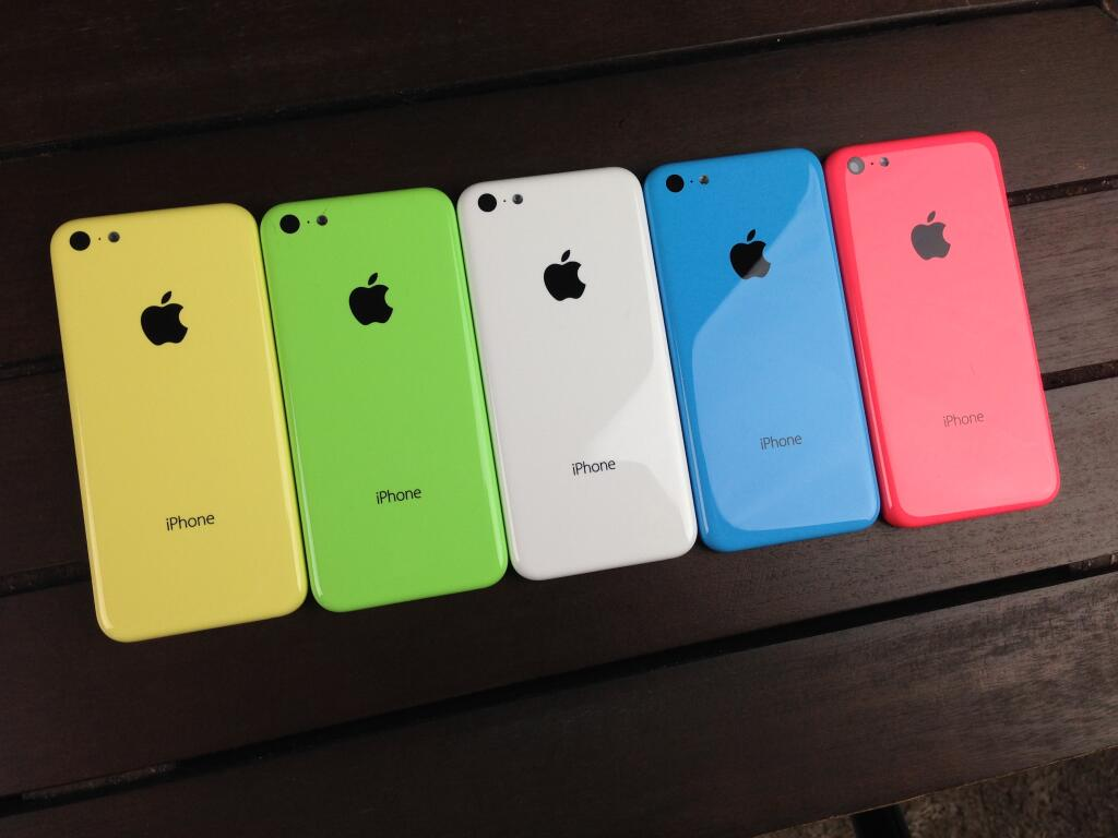 Launch of iPhone 5S and iPhone 5C