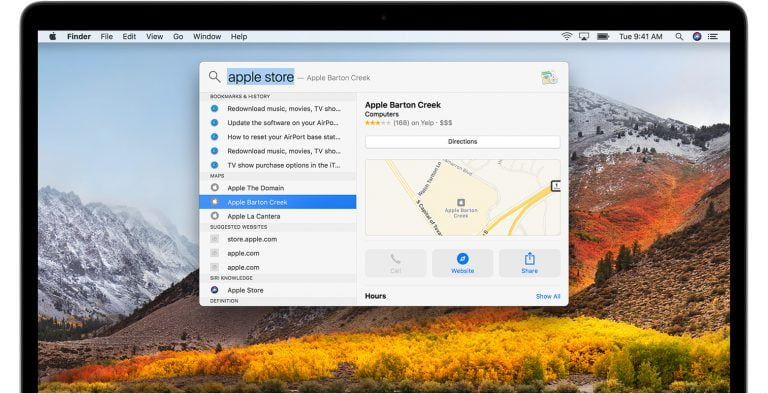 Learn about all the features of Spotlight in OS X