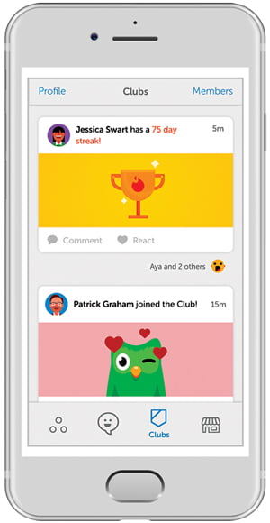 Learn languages with the new Duolingo bots, available only in iOS