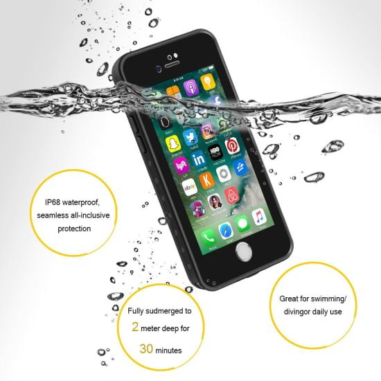 LifeProof Touch ID Compatible Waterproof Case