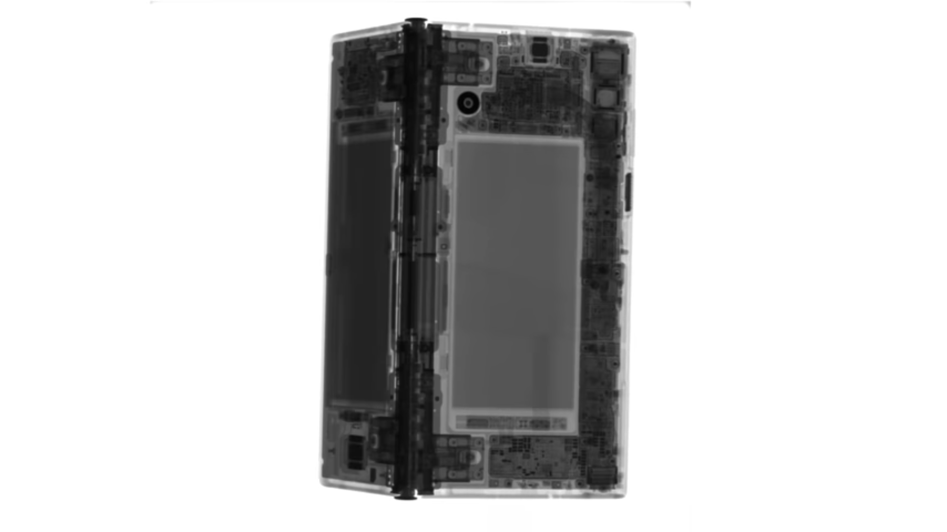 Make your iPhone X transparent with this iFixit wallpaper