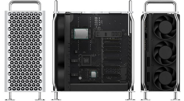 Market launch date of the new Mac Pro