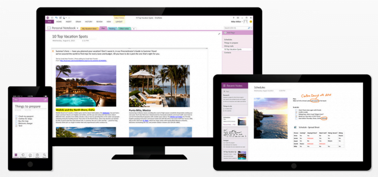 Microsoft redesigns OneNote for iOS and macOS