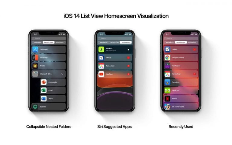 Mockup that shows how the new Home button could look