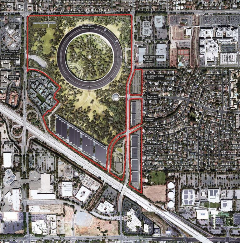 New Apple Campus 2 images