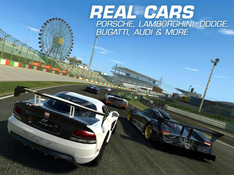 New cars and real-time multiplayer in Real Racing 3