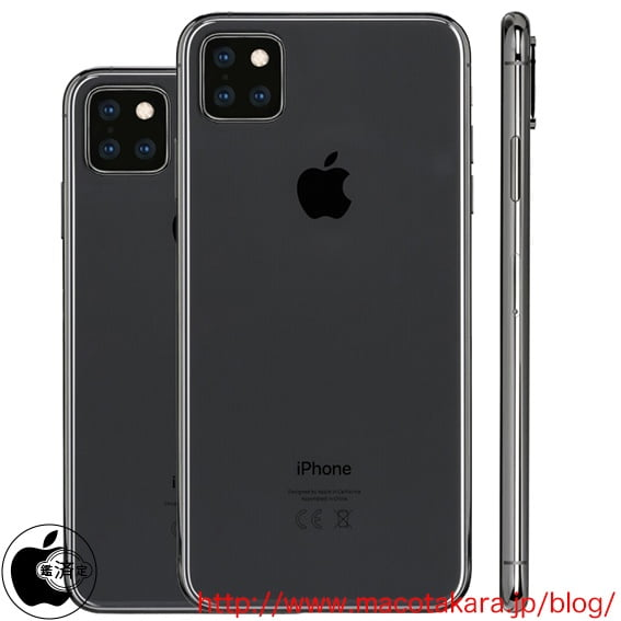 New iPhone XI render with a much more aesthetic triple camera
