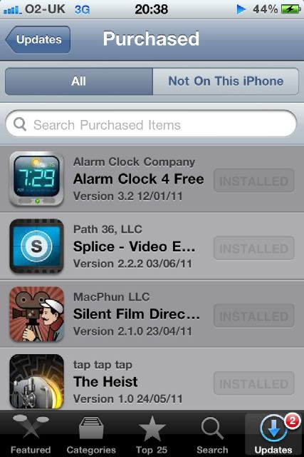 Now you can view your purchase history on iTunes and the App Store on iOS