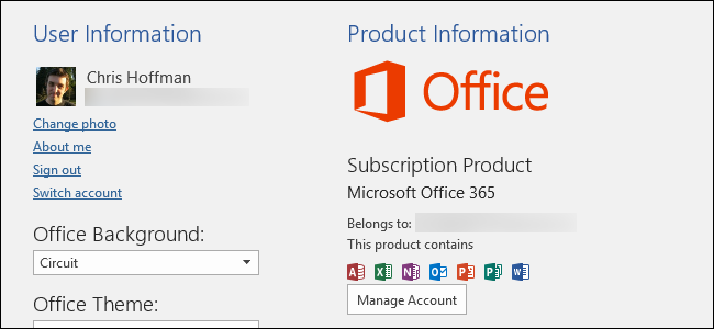 Office 2016 64-bit Mac is available in trial status