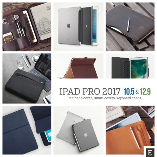 Original leather case for the iPad