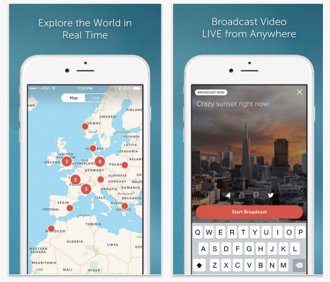 Periscope allows you to broadcast directly from the Twitter app