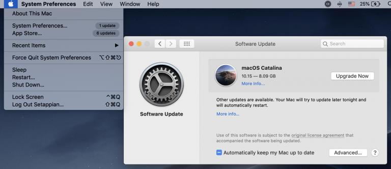Problems when restoring macOS and possible solutions