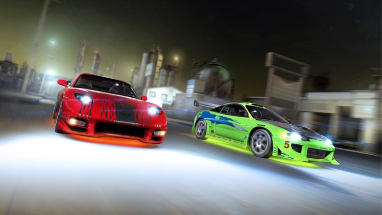 Real Racing 2, console graphics in iOS