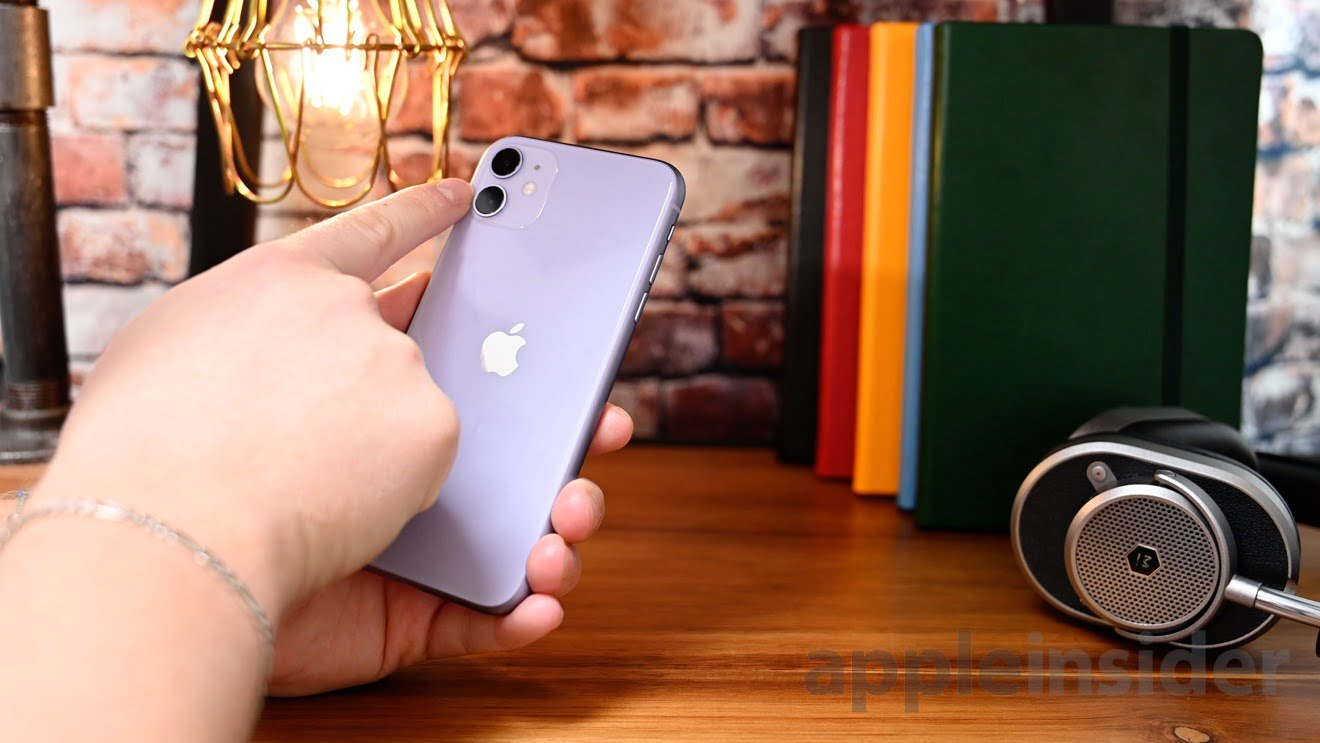 Recording with both cameras is also possible on iPhone 11, XS and XR