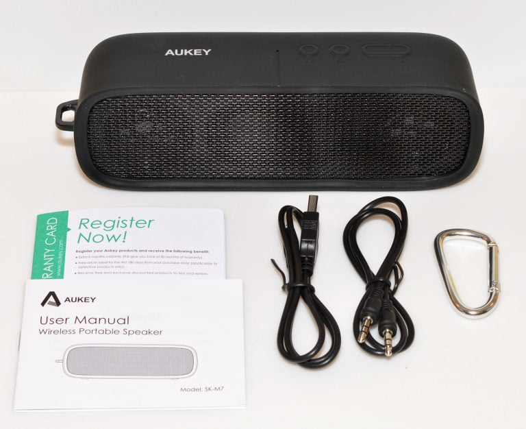Review: AUKEY bluetooth speaker, external battery and USB hub