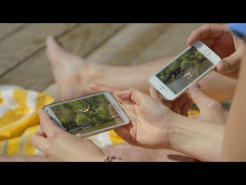 Samsung mocks Apple in its latest commercial