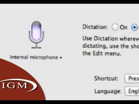 special orders at the dictation of OS X Mountain Lion