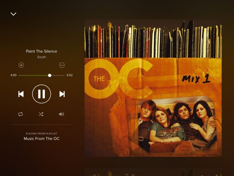 Spotify for iPhone and Mac updates with new design