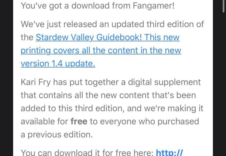 Stardew Valley is now available for download on both iPhone and iPad