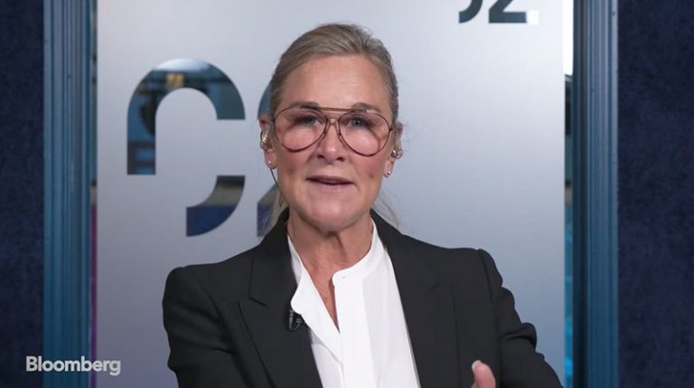 Steve Jobs, very much a part of Angela Ahrendts' work at Apple