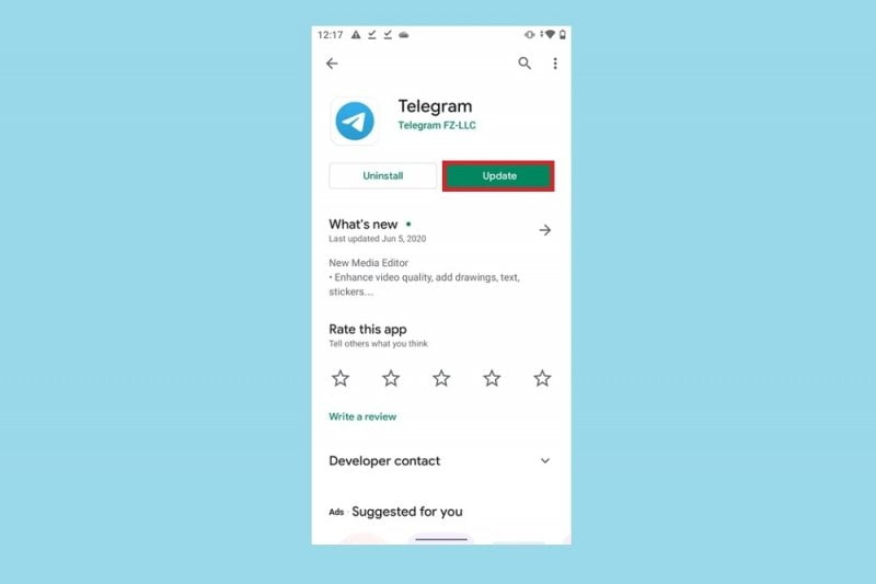 Telegram for iOS is updated with important news