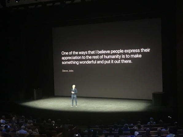 The Apple numbers behind a Keynote speak for themselves