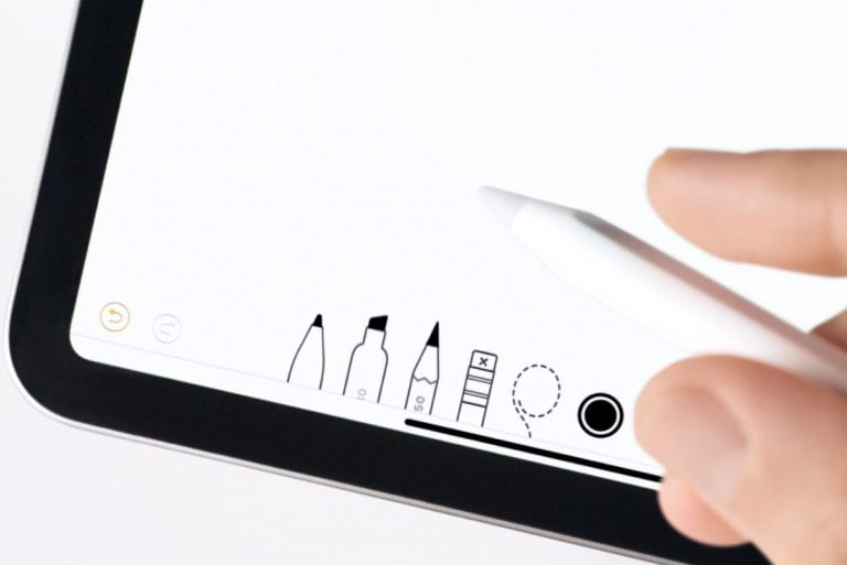 the Apple Pencil will not replace the finger as an input method for the interface