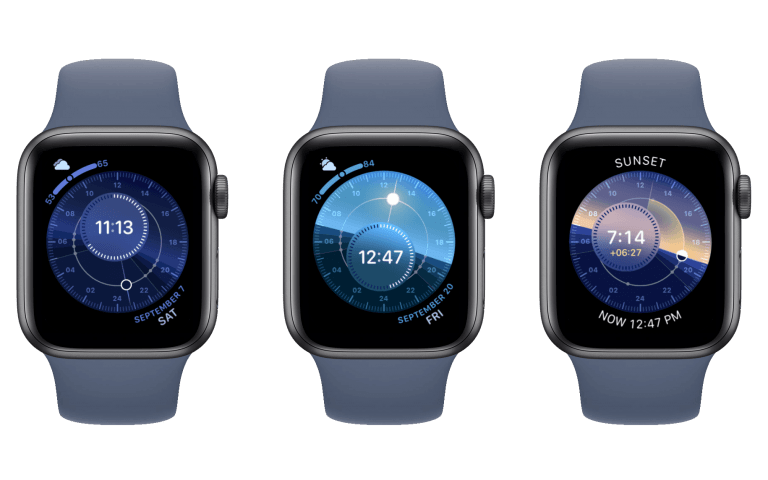 the application to customize the dials of your Apple Watch